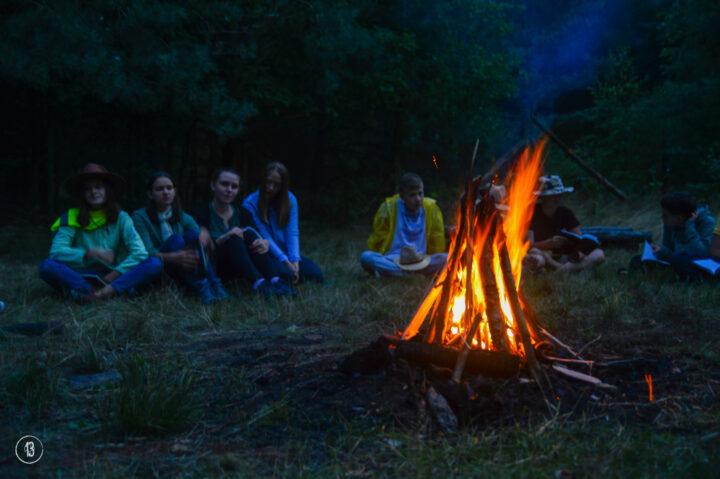 Ustawimy mały obóz 🔥
